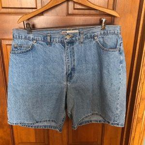 Pants - Vintage Denim Shorts